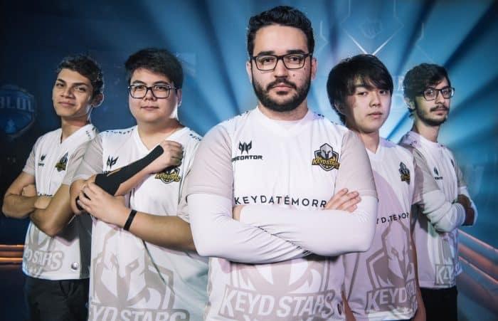 Keyd Stars manteve a mesma line up para o 2º Split